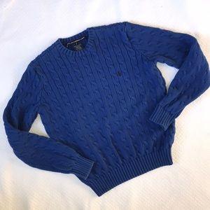 Ralph Lauren Blue Crew Neck Sweater